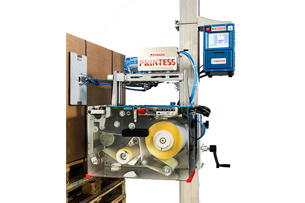 High-performance printing machine for huge labels (typically A4 size).