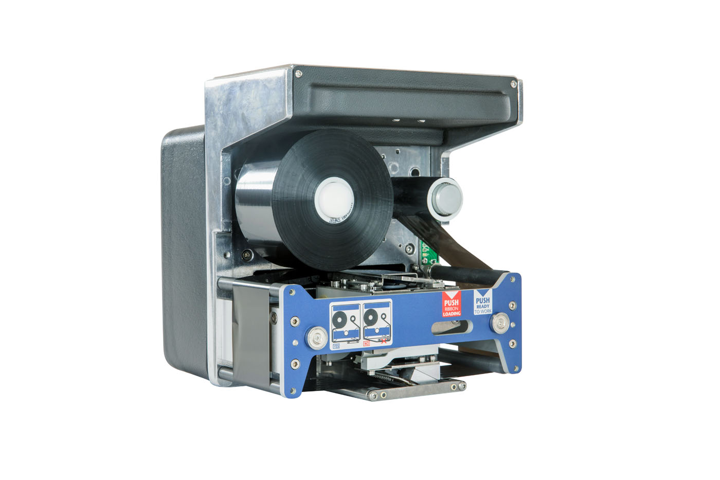 Printers for intermittent packaging machines.